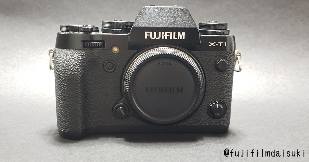 FUJIFILM X-T1 ブラックモデル